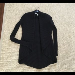 Autumn Cashmere Black cardigan in size XS .